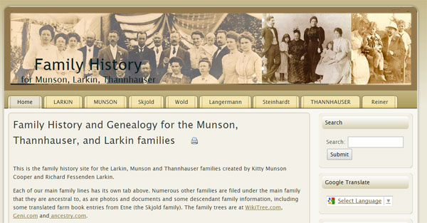 Click to go to my family history site KittyMunson.com